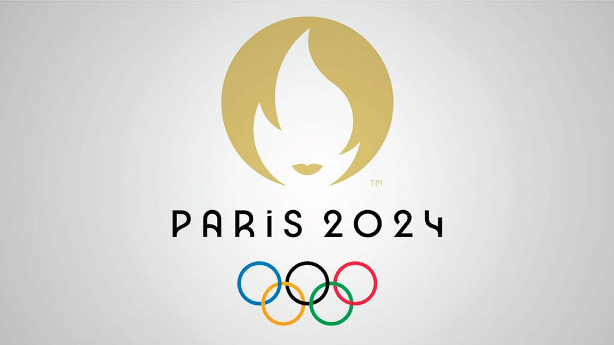 logo olimpiadi di parigi